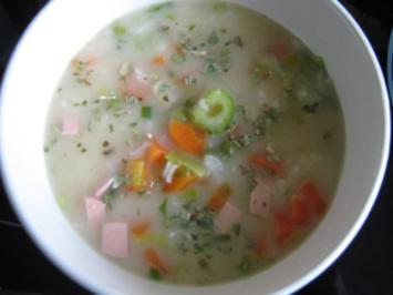 Reissuppe nach griechischer Art - Rezept