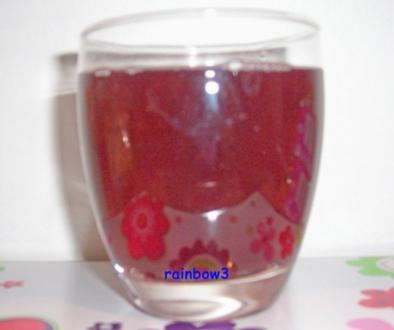 Getränk: Apfel-Holunder-Saft - Rezept
