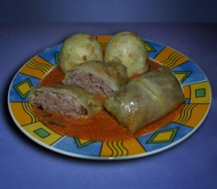 Golabki - Polnische Kohlrouladen - Rezept