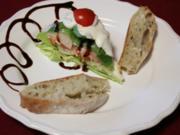 Salattorte mit Ciabatta - Rezept