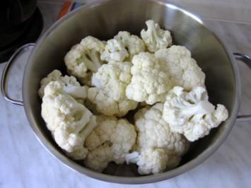 Rezept: Blumenkohl mit 'Brauner Butter'
