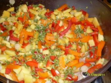 Paprika-Mango-Salat - Rezept