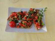 Tomaten-Bruscetta - Rezept