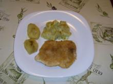 Putenschnitzel an Pattisongemüse mit Kräuterhollandaise - Rezept