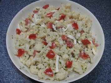 Blumenkohl-Salat - Rezept