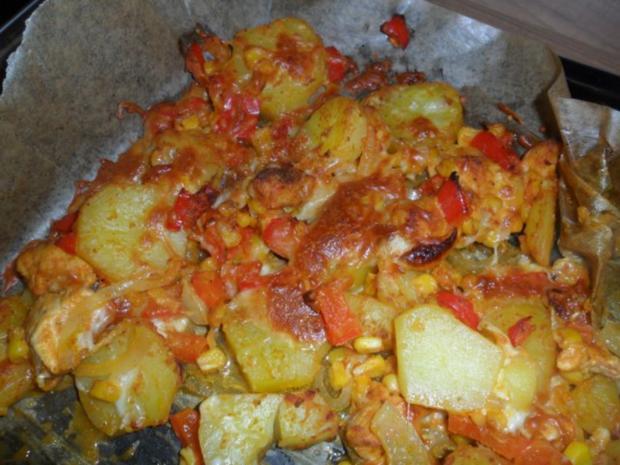 Kartoffel Hähnchen Pfanne - Rezept - Bild Nr. 3
