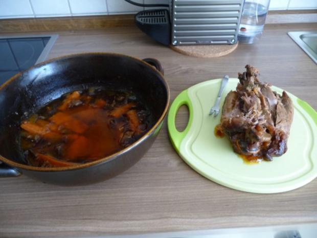 Resteverwertung : Putenbraten vom Vortag mit Kartoffeln und Salat - Rezept - Bild Nr. 2