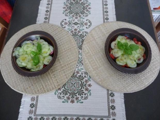 Resteverwertung : Putenbraten vom Vortag mit Kartoffeln und Salat - Rezept - Bild Nr. 7