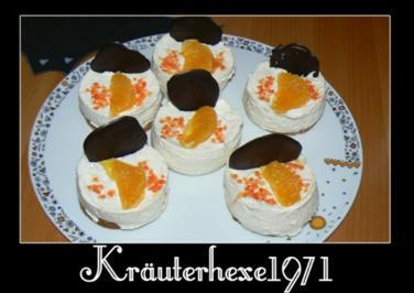 weihnachtliches Käse-Sahne-Törtchen - Rezept
