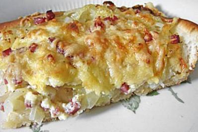Zwiebelkuchen Marianne - Rezept