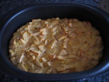 Falscher Apfelstrudel - Rezept