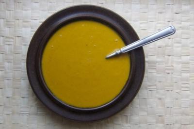 Kürbissuppe mit Apfel - Rezept
