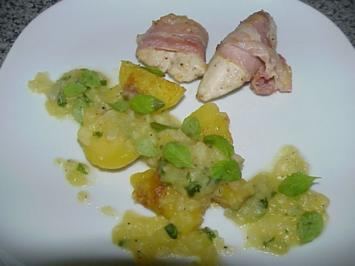 Kartoffel-Majoran-Soße zu Hähnchenfilets - Rezept