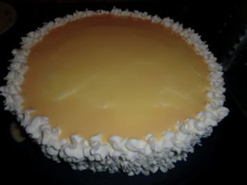 Preiselbeer-Eierlikör-Torte - Rezept