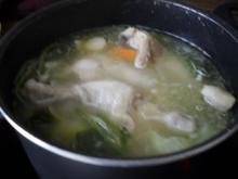 Hühnerfrikassee - Rezept