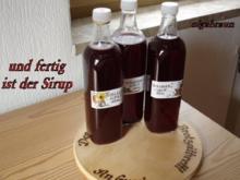 Schlehen-Sirup - Rezept