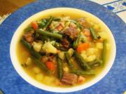 Grüne Bohnensuppe ... - Rezept