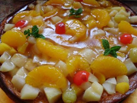 Fruchtiger Käsekuchen - Rezept