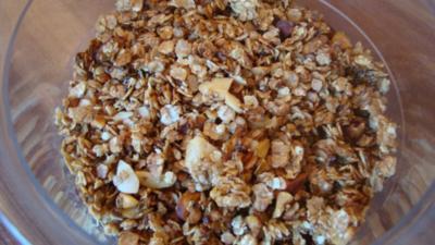 Selbstgemachtes Crunchy-Müsli - Rezept