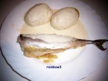 Kochen: Makrelen aus dem Backofen mit Sahne-Meerrettich-Sauce - Rezept