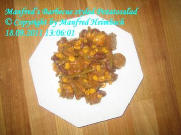 Kartoffeln – Manfred's Barbecue styled Potatosalad - Rezept