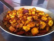 Chorizo-Bratkartoffeln - Rezept