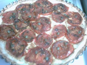 Tomaten Tarte - Rezept