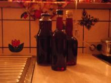 Rotweinlikör - Rezept