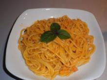 Kräuter - Lachs - Spaghetti - Rezept
