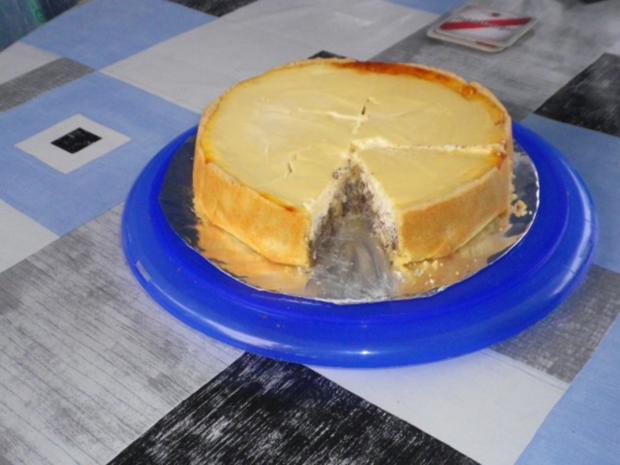 Mohn - Apfel - Käsekuchen - Rezept