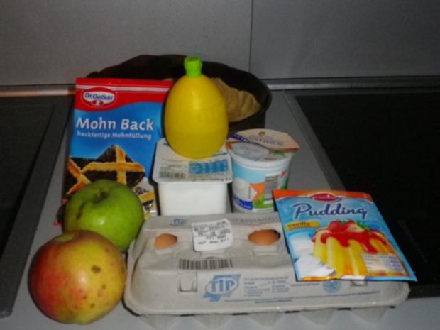 Mohn - Apfel - Käsekuchen - Rezept - Bild Nr. 4