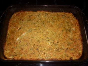 Pikanter Zucchini-Kuchen - Rezept