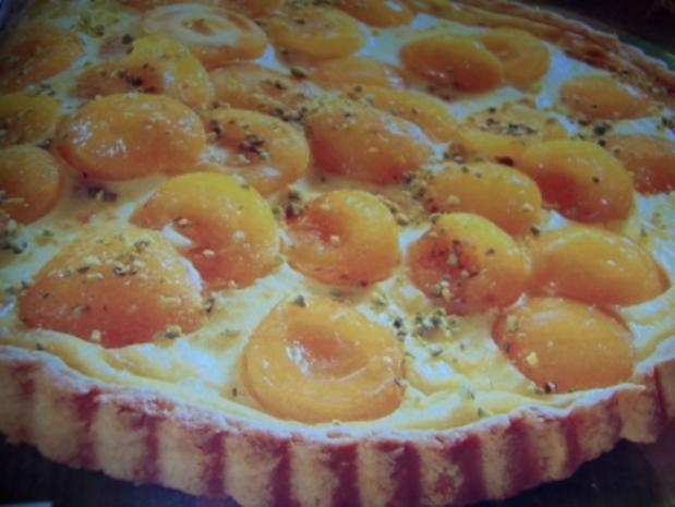 Aprikosen-Schmand-Tarte - Rezept