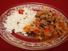 Rinderfilet mit Salbei aus dem Wok - Rezept