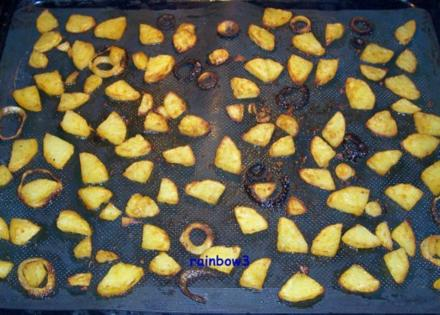 Beilage: Bratkartoffeln aus dem Backofen - Rezept