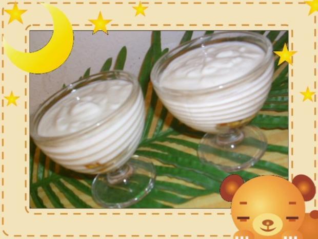 Äpfel mit Joghurt - Rezept