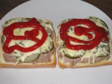 Mett-Toast schnell & jammi - Rezept