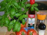 Gebackener Fetakäse mit Tomate - Rezept