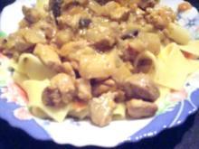 Kokos - Curry Geschnetzeltes - Rezept