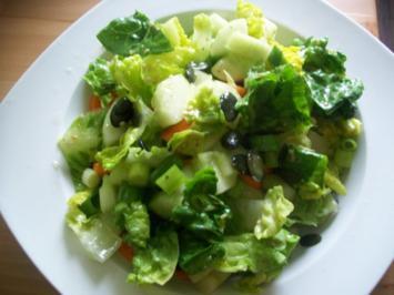 grüner Salat - Rezept