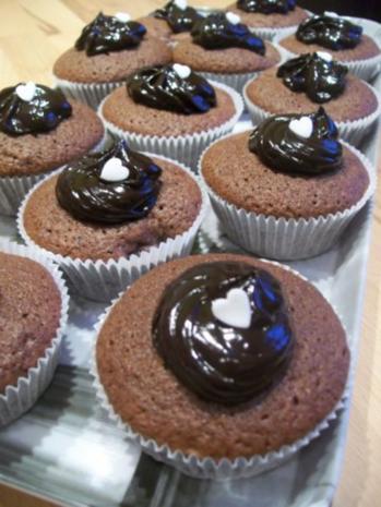 Bananen-Schoko-Cupcakes - Rezept - Bild Nr. 2