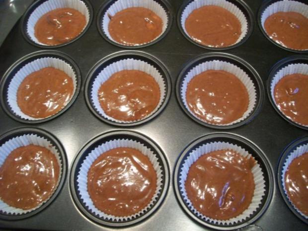Bananen-Schoko-Cupcakes - Rezept - Bild Nr. 3