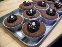 Bananen-Schoko-Cupcakes - Rezept