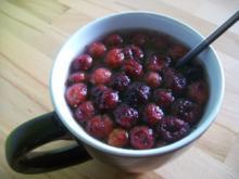 Cranberries Tee - Rezept