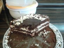 schoko kirsch buttercreme torte - Rezept