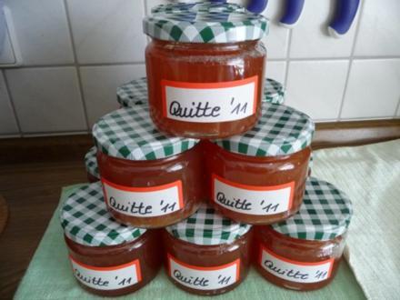 Marmelade : Quittengelee 2011 - Rezept