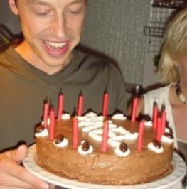Mamas Geburtstagsschokoladentorte - Rezept