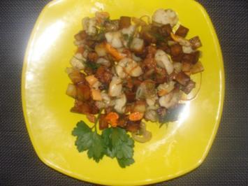 Meeresfrüchte : Jakobsmuschelsalat - Rezept