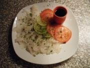 Sashimi vom Dorsch - Rezept