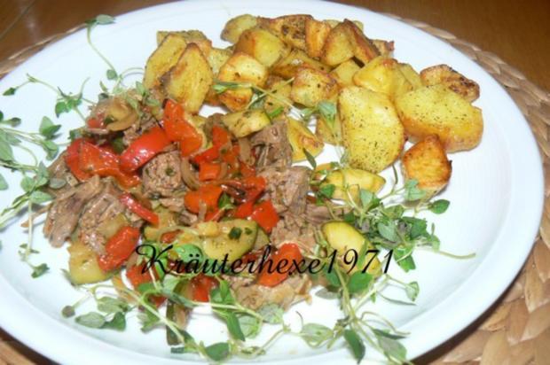 Rindfleischsalat a la Kräuterhexe - Rezept